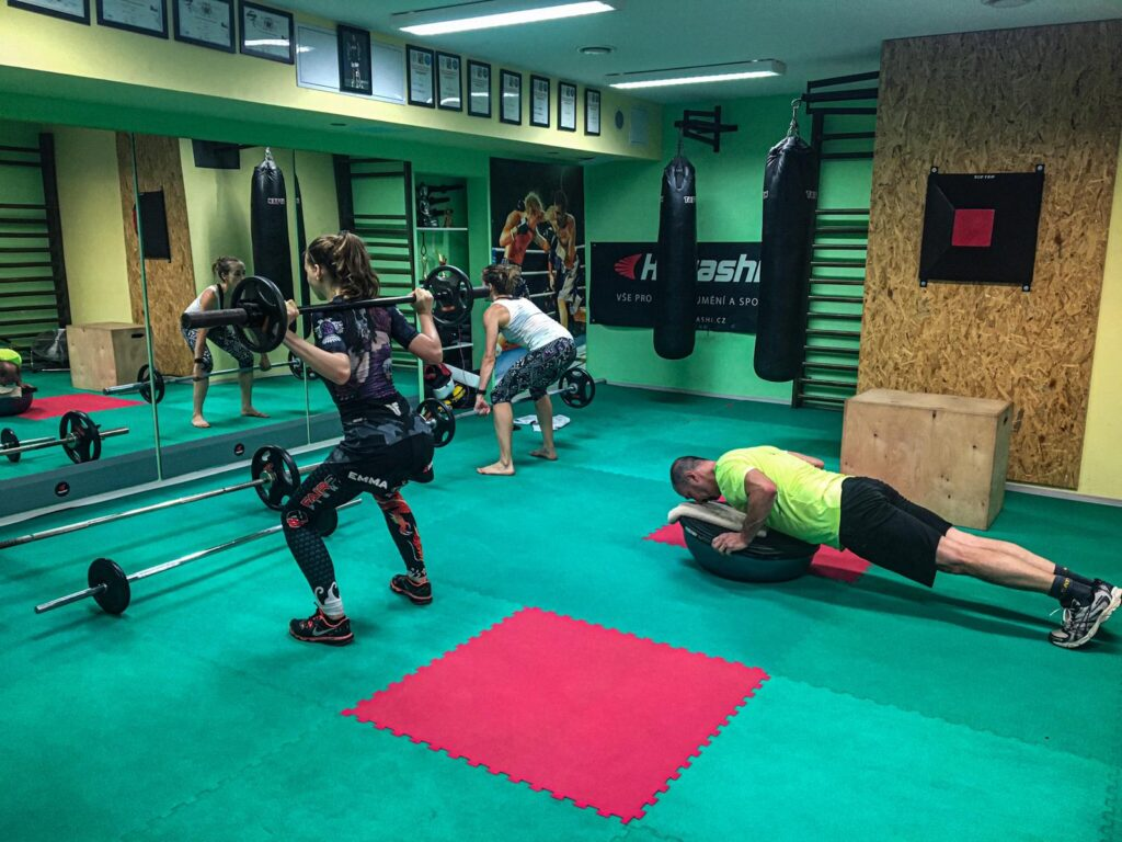Kruhový trénink Fight arena Slaný